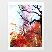 Color Blocked Art Print