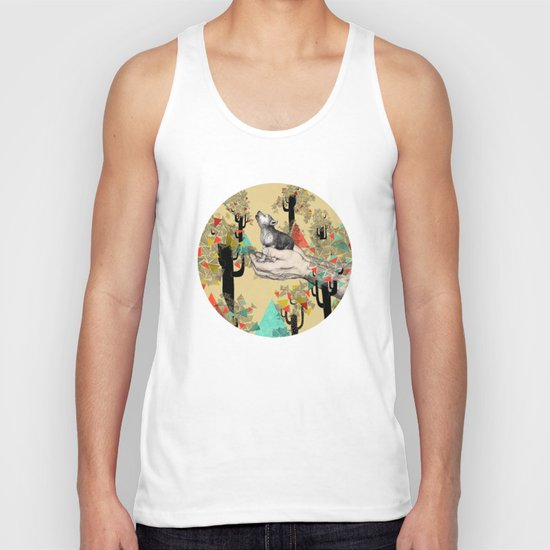 Found You There  Unisex Tank Top