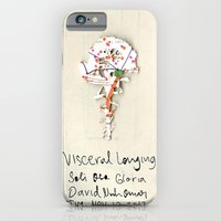 iPhone & iPod Case featuring Visceral Longing  by David Nuh Omar