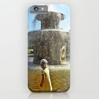 iPhone & iPod Case featuring Fountain kids by Li9z