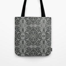Frozen Black Tote Bag