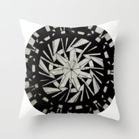 Spinny 5 Throw Pillow
