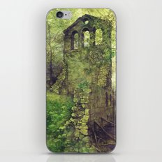 Ruins in the forest iPhone & iPod Skin