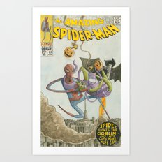 AmazingSpiderman 97 Art Print