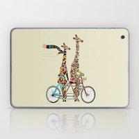 Giraffe Days Lets Tandem Laptop & iPad Skin