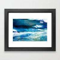 Waves Of Wool Framed Art Print
