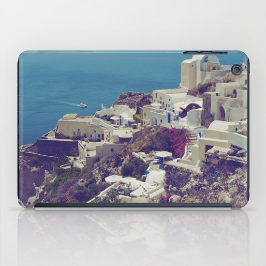 Oia from afar  iPad Case