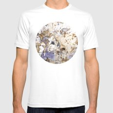 Nautica  Mens Fitted Tee SMALL White