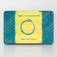 Three that come unbidden – love, jealousy and fear iPad Case