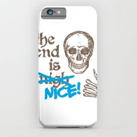 iPhone & iPod Case featuring The End Is Nice by Stuart Colebrook