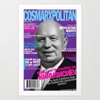 COSMARXPOLITAN, Issue 14 Art Print