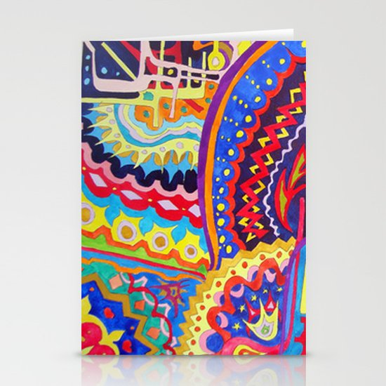 Watercolor Painting Stationery Card