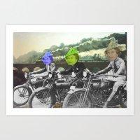 motorqueen Art Print