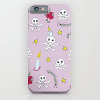 iPhone & iPod Case featuring voodoo skulls by nefos