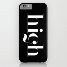 Typography iPhone 6s Slim Case