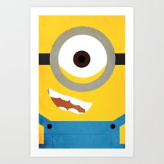 Simple Heroes - Minion Art Print