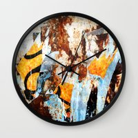 Vestiges Wall Clock