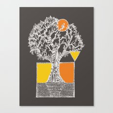 The Beyonder Oak - Varia… Canvas Print