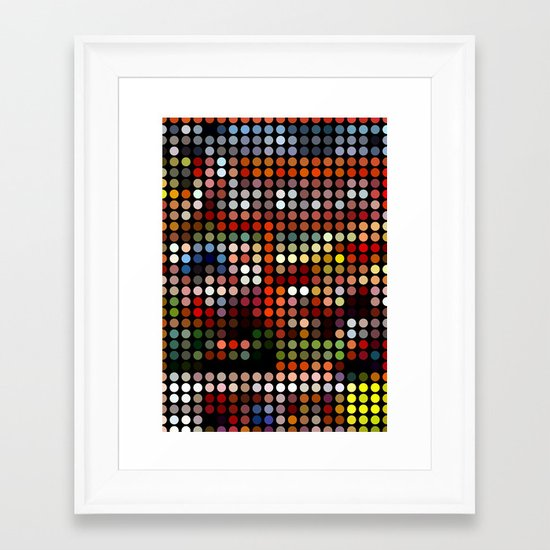 Comic Framed Art Print