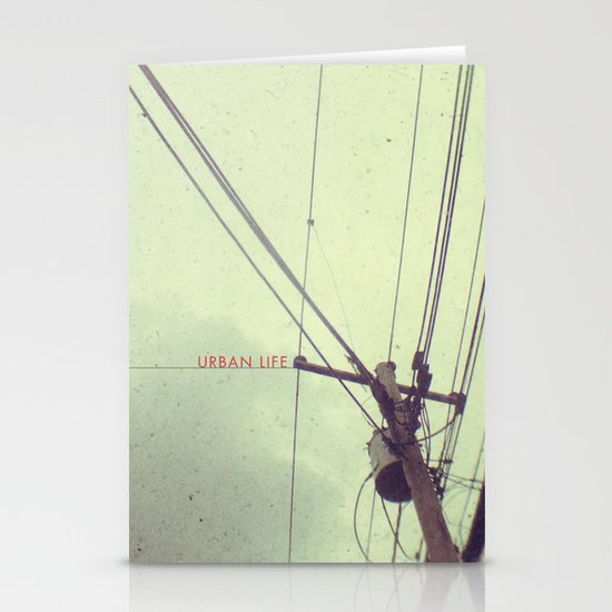 urban life project Stationery Card