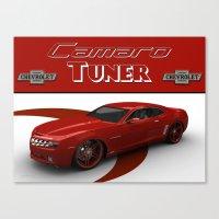Chevrolet Camaro Tuner Canvas Print