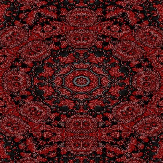Regal Red 2 Art Print