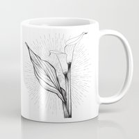 Lily in Black and White Mug