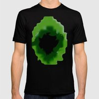 Unfurled Beryl Mens Fitted Tee Black SMALL