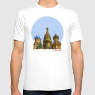 T-shirt featuring St. Basil's Cathedral by Digital2real