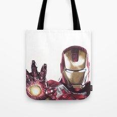 Iron Man Pen Drawing Tote Bag