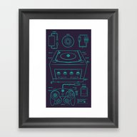 GC Framed Art Print