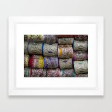 Lace Market Framed Art Print