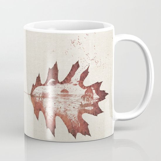 Autumn morning Mug