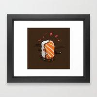 Love.  Framed Art Print