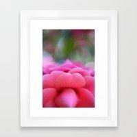 Spring morning Framed Art Print