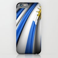 iPhone & iPod Case featuring Flag of Uruguay by Lulla