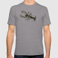 Lobster In Paris Mens Fitted Tee Athletic Grey SMALL