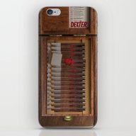 iPhone & iPod Skin featuring I-Dex Dexter Blood Slide… by Emiliano Morciano (A…