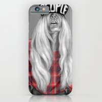 iPhone & iPod Case featuring + The Real Her + by Sandra Jawad