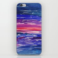 End of a Long Day iPhone & iPod Skin