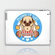 Pump It Up, Puglie! Laptop & iPad Skin