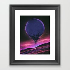 O3.RUPTURE (everyday 11.01.15) Framed Art Print