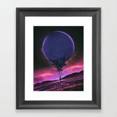O3.RUPTURE (everyday 11.01.15) Framed Art Print