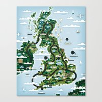 Good Toys UK Canvas Print