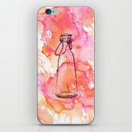 Bottle Pink iPhone & iPod Skin