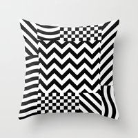 Dazzle 01 Throw Pillow