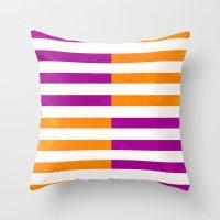 Colorblock Throw Pillow
