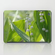 Lily of the valley iPad Case