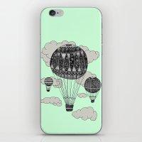 Hot Air Ballooning iPhone & iPod Skin