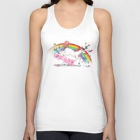 Unicorn: Destroyer of Ponies! Unisex Tank Top